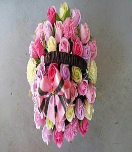 비누 꽃바구니